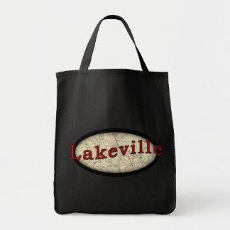 Lakeville Massachusetts Old Map Tote Bag