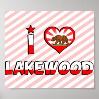 Lakewood, CA Poster