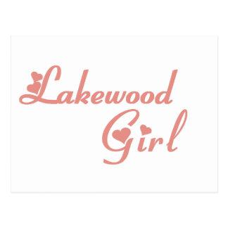 Lakewood Girl tee shirts Postcard