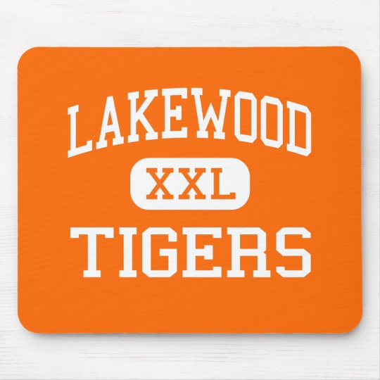 Lakewood - Tigers - High - Lakewood Colorado Mouse Pad