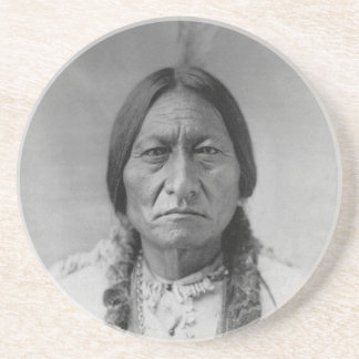 Lakota American Indian Chief Sitting Bull Coaster