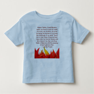 lakota prayer toddler shirt