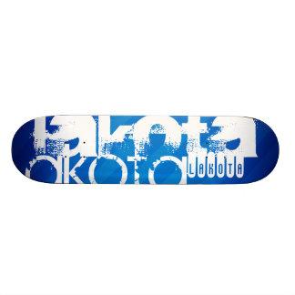 Lakota; Royal Blue Stripes Skateboard
