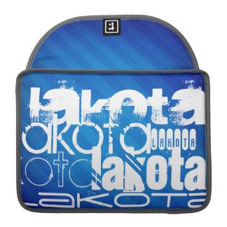 Lakota; Royal Blue Stripes Sleeves For MacBook Pro