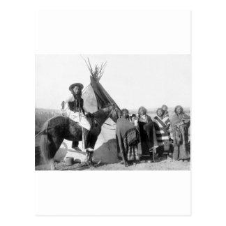 Lakota Sioux 1891 Post Cards