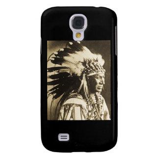 Lakota Sioux Chief White Swan Galaxy S4 Cover