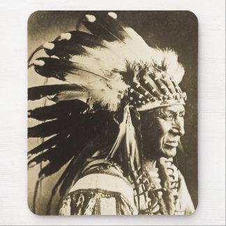 Lakota Sioux Chief White Swan Mouse Pad