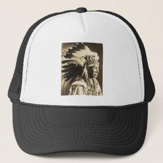 Lakota Sioux Chief White Swan Trucker Hat