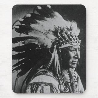 Lakota Sioux Vintage Chief White Swan Mouse Pad