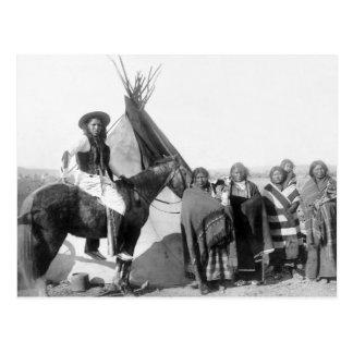Lakota Siux: 1891 Tarjeta Postal
