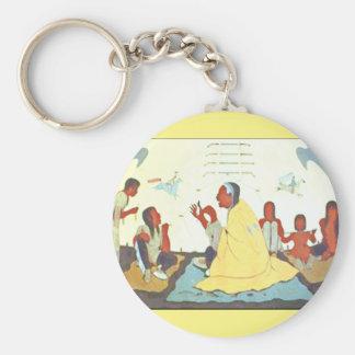 Lakota Storyteller keychain