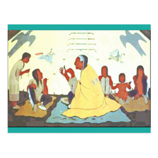 Lakota Storyteller postcard
