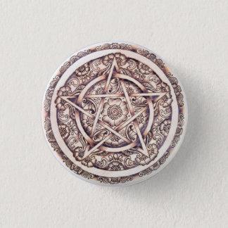 Lakshimi Pentacle Button Pin
