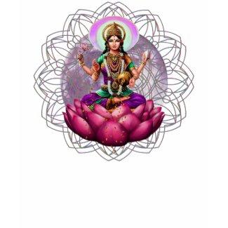 Lakshmi Fortune Mandala ladies top shirt
