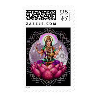 Lakshmi Goddess of Fortune Postage