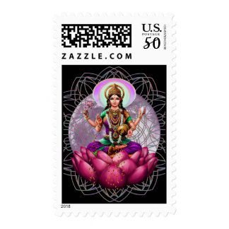 Lakshmi Goddess of Fortune Postage
