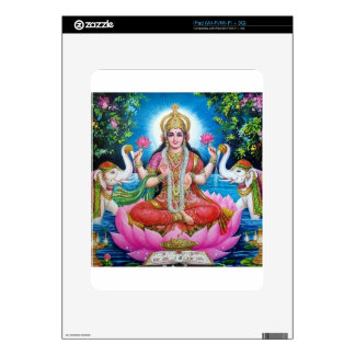 Lakshmi Goddess of Love, Prosperity, and Wealth Decals For iPad