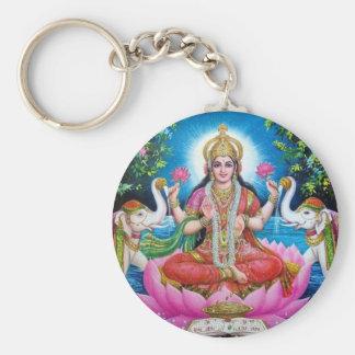 Lakshmi Goddess of Love, Prosperity, and Wealth Keychain