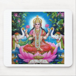 Lakshmi Goddess of Love, Prosperity, and Wealth Mouse Pad