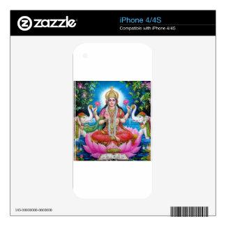 Lakshmi Goddess of Love, Prosperity, and Wealth Skins For iPhone 4S