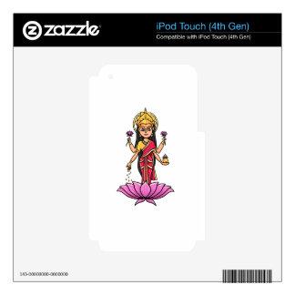 Lakshmi iPod Touch 4G Decal