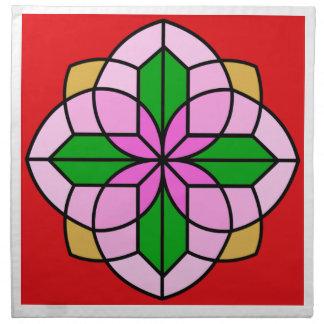 Lakshmi Lotus Cloth Napkin