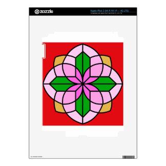 Lakshmi Lotus iPad 3 Skins