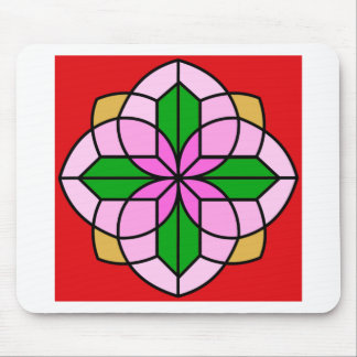 Lakshmi Lotus Mouse Pads