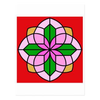 Lakshmi Lotus Postcard