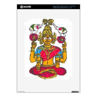 Lakshmi / Shridebi in Meditation Pose iPad 3 Decals