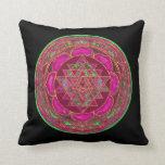 Lakshmi Yantra Mandala Pillow