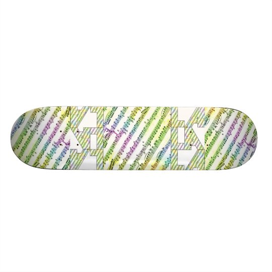 LALALA Fundraiser Skateboard