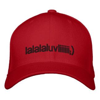 lalalaluvliiiiii;) embroidered baseball hat