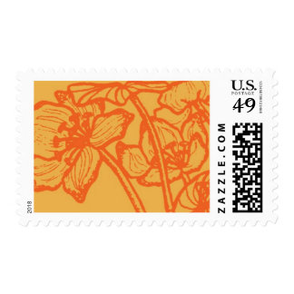 Lalique D by Ceci New York Postage Stamps
