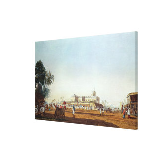 Lall Bazaar and the Portuguese Chapel Gallery Wrap Canvas