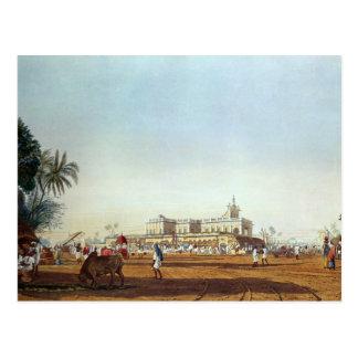 Lall Bazaar and the Portuguese Chapel Postcard
