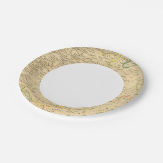 L'Allemagne 1137 a 1273 7 Inch Paper Plate