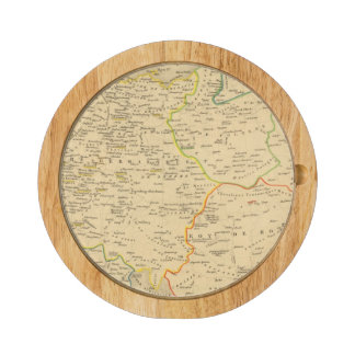 L'Allemagne 1137 a 1273 Round Cheese Board