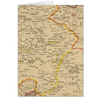 L'Allemagne 1373 a 1437 Card