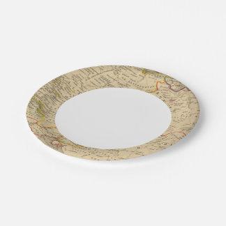 L'Allemagne 1373 a 1437 Paper Plate