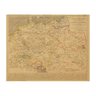 L'Allemagne 1373 a 1437 Wood Print
