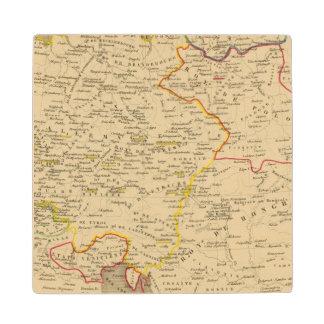 L'Allemagne 1373 a 1437 Wooden Coaster