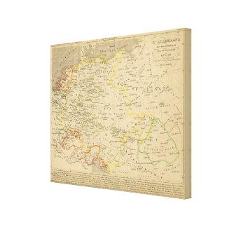 L'Allemagne 1437 a 1612 Canvas Print