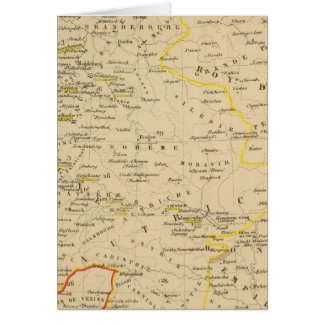 L'Allemagne 1437 a 1612 Card