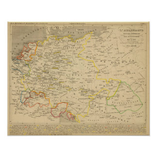 L'Allemagne 1437 a 1612 Poster