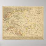 L'Allemagne 1437 un 1612 Póster
