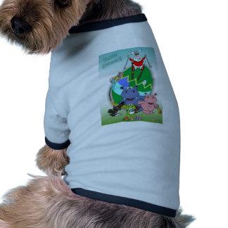 Lalli and loop dog tee shirt