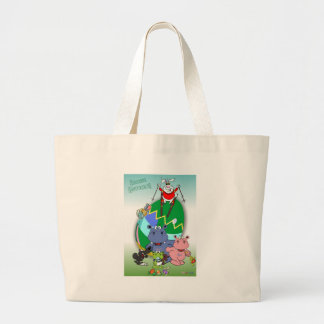 Lalli and loop large tote bag