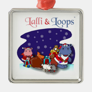 Lalli and loop christmas ornaments