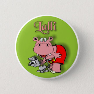Lalli and loop pinback button